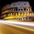 The Colosseum at night, Rome, Italy - Photo