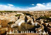 梵蒂冈的圣彼得广场 — 图库照片