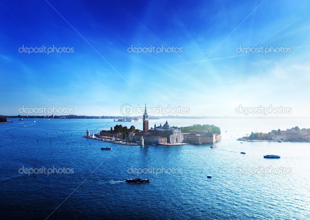 View of San Giorgio island, Venice, Italy — Stock Photo #8775154