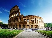 Koloseum v římě, itálie — Stock fotografie