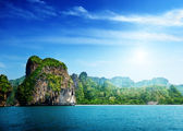 Railay beach in Krabi Thailand — Stock Photo