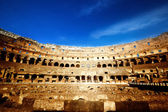 Inside of Colosseum in Rome, Italy — Стоковое фото