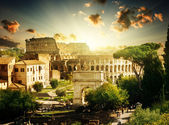 Colosseum in Rome, Italy — Stock Photo