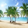 Beach of Catalina island in Dominican republic — Stock Photo #9967047