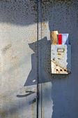 Vecchia cassetta postale — Foto Stock
