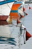 Barche da pesca in vecchia giaffa, israele. — Foto Stock