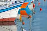 Fishing boats in Old Jaffa, Israel. — Stock Photo