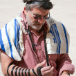Stock Photo: Wailing Wall Jerusalem, praying