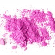 Stock Photo: Pink crushed makeup