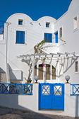 Calles de santorini — Foto de Stock
