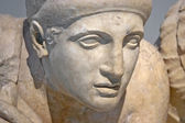 Yacimiento arqueológico de olimpia, grecia. — Foto de Stock