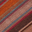 High resolution multicolor striped textile background — Stock Photo #10610427