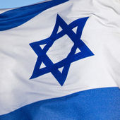 Flag of Israel — Foto de Stock