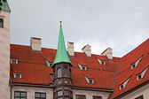 Alter hof castle, munich Tyskland — Stockfoto