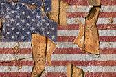 Flag Of American. — Stock Photo