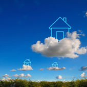 Concept my house. — Stock Photo