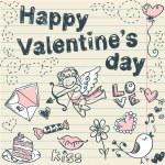 Doodle Valentine — Stock Vector #8345067