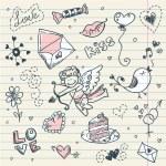 Doodle Valentine — Stock Vector #8345073
