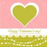 Cute Valentine — Stock Vector