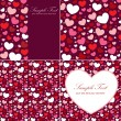 Cute Valentine heart set - Grafika wektorowa