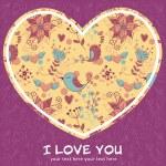 Lovely Valentine — Stock Vector