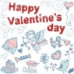 Doodle Valentine — Stock Vector #8494982