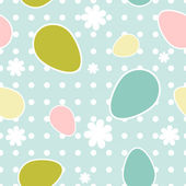 Easter seamless pattern — Stockvektor