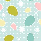 Påsk seamless mönster — Stockvektor