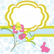 Easter greeting card — Stock Vector #9527702