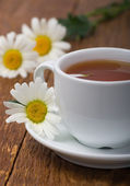 Chamomile herbal tea — Stock Photo