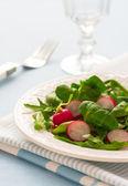 салат из редиса — Стоковое фото