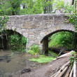 Stock Photo: Old stone bridge