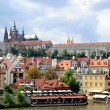 Stock Photo: Prague castle cityscape