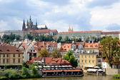 Prague castle cityscape — Stock fotografie