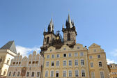 The Old Town Square in Prague — Стоковое фото