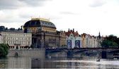 The national theatre in Prague — Stock Photo