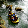 Rafting and Kayaking - Stock Photo