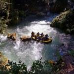 Rafting and Kayaking — Stock Photo