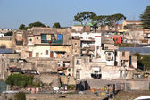 Ercolano: ruins and town — Foto Stock
