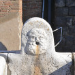 Stock Photo: Close-up of Neptunes Fountain in Ercolano excavations