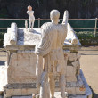 Statue fo Nonio Balbo in Herculaneum — Stock Photo