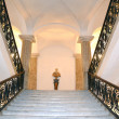 Stock Photo: Stairway inside Museum of Capodimonte
