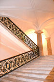Stairway inside Museum of Capodimonte — Stock Photo
