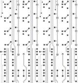 Electronic texture — Stock Vector