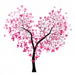 Valentine tree — Stock Vector #8587913