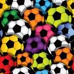 Soccer seamless texture — Stock Vector #9350850