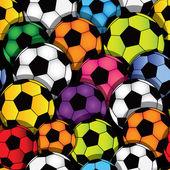 Soccer seamless texture — Stock Vector