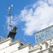 Meteorological devices on roof — Foto de stock #10552069