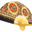 Indian hand fan - Stock Photo