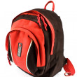 Stock Photo: Red backpack